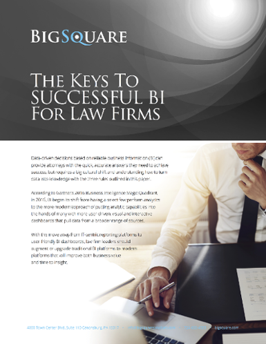 successful business intelligence for law firms